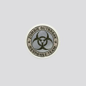Zombie Response Team Color Mini Button