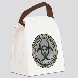 Zombie Response Team Color Canvas Lunch Bag