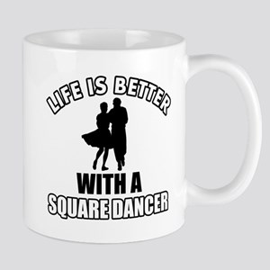 SQUARE dance designs Mug