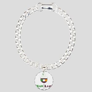 Irish Lush Charm Bracelet, One Charm
