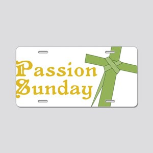 Passion Sunday Aluminum License Plate
