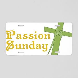 Passion Sunday Aluminum License Plate
