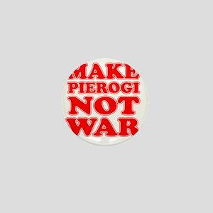 Make Pierogi Not War Apron Mini Button