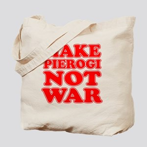 Make Pierogi Not War Apron Tote Bag