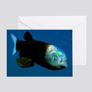Pacific Barrel-Eye Fish Greeting Card