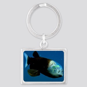Pacific Barrel-Eye Fish Landscape Keychain