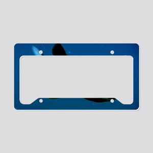 Pacific Barrel-Eye Fish License Plate Holder