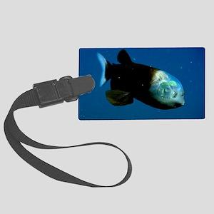 Pacific Barrel-Eye Fish Large Luggage Tag
