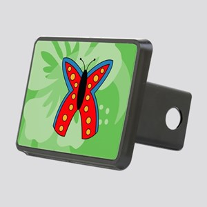 Butterfly Yard Sign Rectangular Hitch Cover