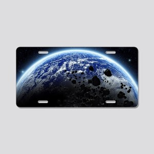 te_laptop_skin Aluminum License Plate