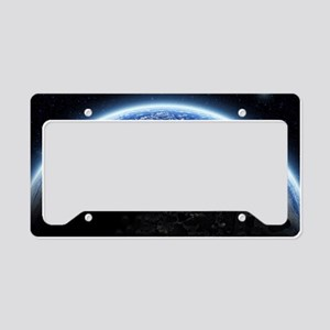 te_laptop_skin License Plate Holder