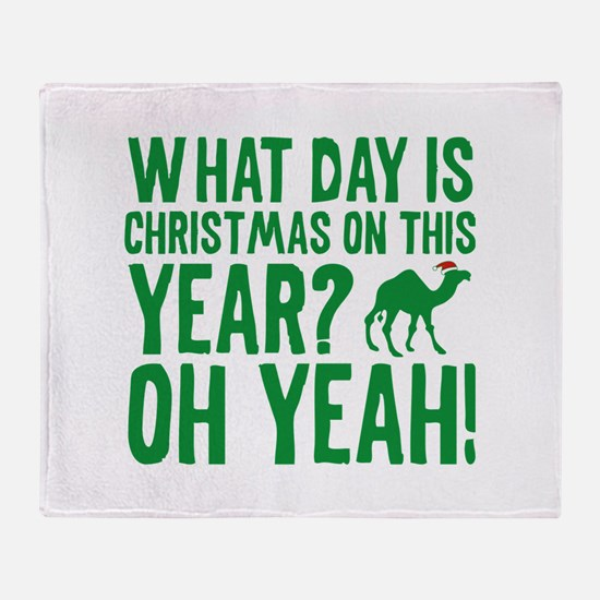 Guess What Day Is Christmas On This Year? Stadium