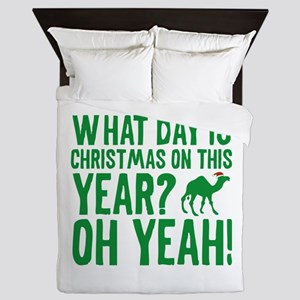 Guess What Day Is Christmas On This Year? Queen Du