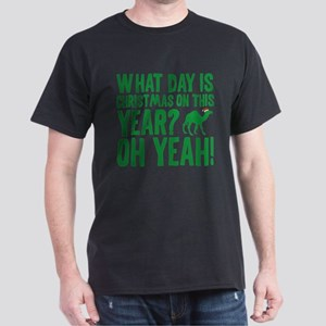 Guess What Day Is Christmas On This Year? Dark T-S