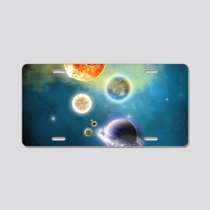 nss_laptop_skin Aluminum License Plate