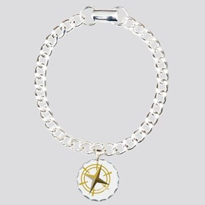 Found it with compass (d Charm Bracelet, One Charm