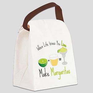Make Margaritas Canvas Lunch Bag