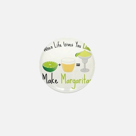 Make Margaritas Mini Button
