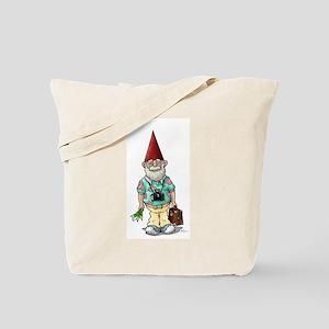 Tourist Gnome Tote Bag
