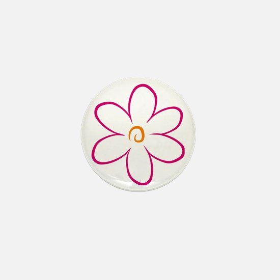 flower Mini Button