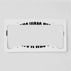 Mormon License Plate Holder