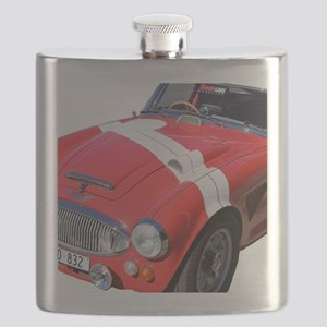 Red car Note 11 case Flask
