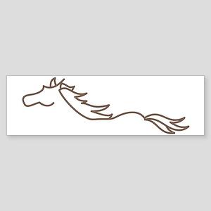 Wild Horse Sticker (Bumper)