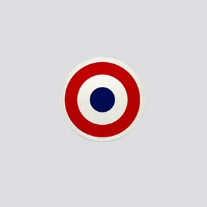 French AF roundel Mini Button