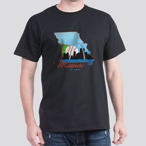 Saint Louis Missouri Dark T-Shirt