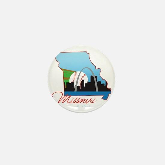 Saint Louis Missouri Mini Button