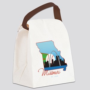 Saint Louis Missouri Canvas Lunch Bag
