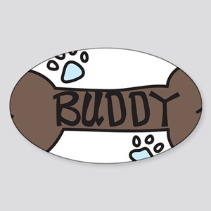 Buddy Sticker (Oval)