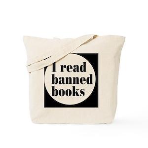 Banned Books Canvas Tote Bags - CafePress fcc98f696f86e