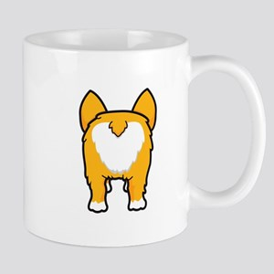 Happy corgi wiggle puppy dog butt Mugs