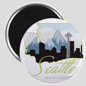 Seatle  Washington Magnet