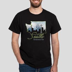 Seatle  Washington Dark T-Shirt