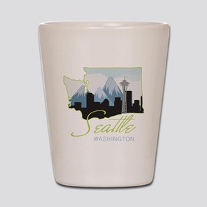 Seatle  Washington Shot Glass