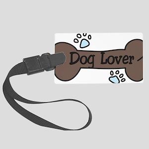Dog Lover Large Luggage Tag