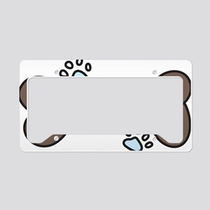 Dog Lover License Plate Holder