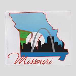 Missouri Throw Blanket