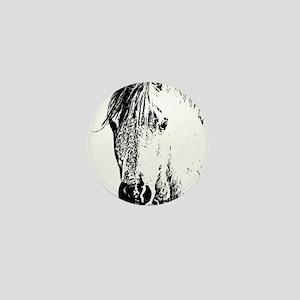Horse Love 2 Mini Button