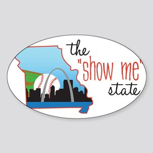 Show Me State Sticker (Oval)