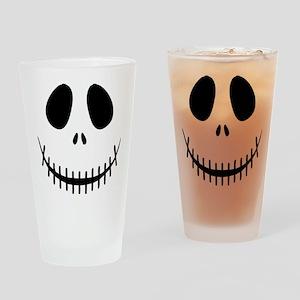 Halloween Skeleton Drinking Glass