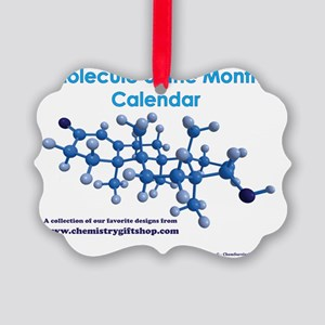 Molecule of the Month Picture Ornament