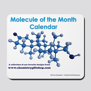 Molecule of the Month Mousepad