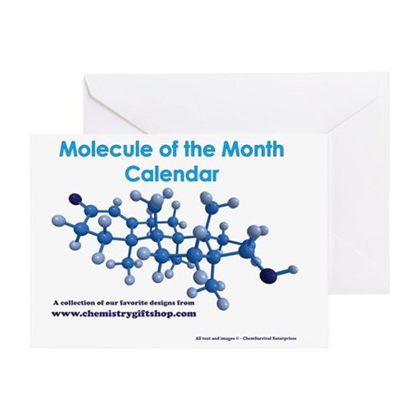 Molecule of the Month Greeting Card