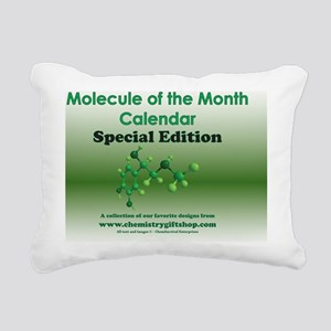 Molecule of the Month Sp Rectangular Canvas Pillow