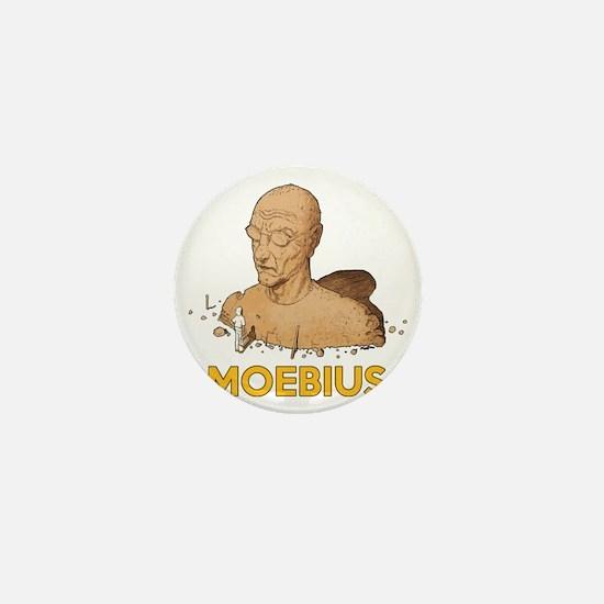 Moebius scifi vintage Mini Button