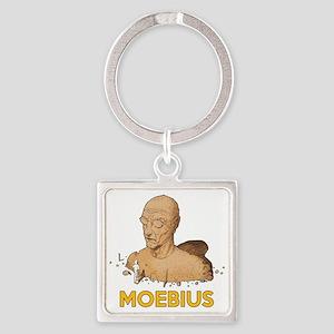 Moebius scifi vintage Square Keychain