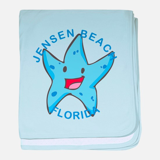 Florida - Jensen Beach baby blanket